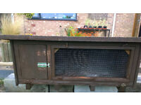 Rabbit or Guinea Pig hutch For Sale.