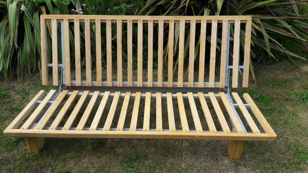 3 Seater Futon Sofa Bed Base Plus Free Mattress