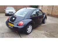 Volskwagen Beetle Automatic low mileage 75k mot an tax in mint condition