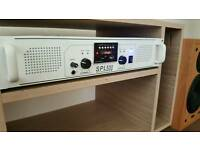 Skytec SPL500 MP3 EQ USB/SD Amp White DJ Disco Party Amplifier 500W
