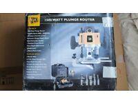 NEW JCB PR12F 1500W Plunge Router