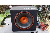 Active Subwoofer with amplifier EDGE