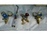 Gas Welding Gauges & welding torch