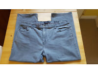 Grey/ blue jeans by Harbour. Size 42. £2