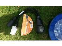 Caravan conversion lead adapter