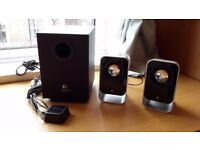 Logi tech speakers