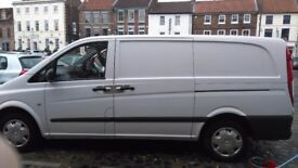 Mercedes vito van. Runs as new, fantastic van, good body condition considering age, central locking