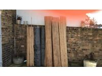 Bamboo fencing - £10 per item or cheaper if bought in bulk