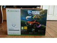 Xbox One S 500GB Rocket League Bundle BRAND NEW FACTORY SEALED with xbox live