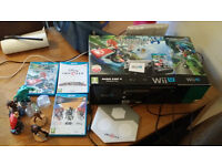 32GB Premium pack Nintendo Wii U with box and games