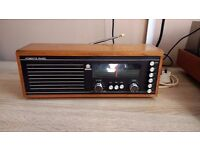 Roberts RM33 Radio wooden case very good condition -can post for extra-