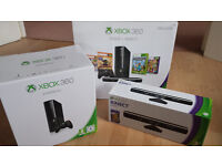 Boxed Xbox360 with kinect in MINT condition