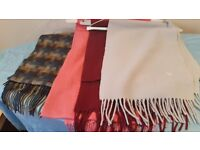 4 quality ladies scarfs for winter
