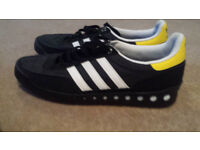 Adidas trainers - black, only worn a couple of times. size 11