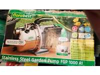 Water booster pump 1000w electric for home garden