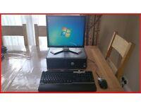 DELL OPTIPLEX 380 PC WITH SCREEN - WINDOWS 7 PRO + MICROSOFT OFFICE