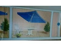 Brand new, boxed PARASOL 240x175cm POSSIBLE DELIVERY