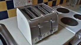Sainsbury's Collection 4-Slice Toaster - near new cond.