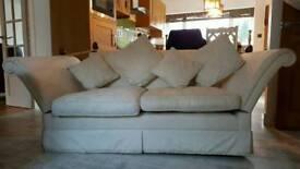 Laura Ashley Langham large 2 seater sofa good condition