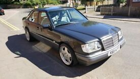 2000 X Reg Mercedes E220 W124 71,000 miles Manual Rare