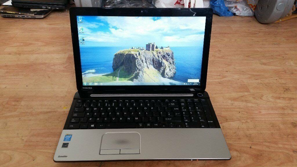 toshiba satellite c55 windows 7 8g memory webcam wifi dvd drive core i3 microsoft office 2016in East End, GlasgowGumtree - toshiba satellite c55 windows 7 8g memory webcam wifi dvd drive microsoft office 2016 processor intel core i3 2.40 ghz 500g hard drive battery holds a good charge comes with charger 1 week guarantee no texing phone only with held number will not be...