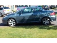 Peugeot 307. MOT Feb 18. Radio/5 change cd player.located in Dawlish. Cream leather interior.