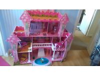 Large dolls house from costco