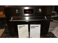 ikea exemplarisk (granslos) combi forced air/microwave/grill integrated oven excellent condition