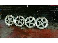 "17"" Audi, VW, SEAT 5X100 JAPAN 3 PIECE SPLIT RIM ALLOYS"