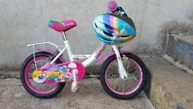 Apollo Pixie Girls Bike 3 to 5 year old.