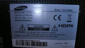 Samsung 24 inch led tv about 1 year, nice picture
