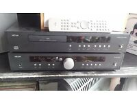 Arcam CD Player and Amplifier