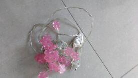 Flower light garland