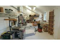 Woodworking WORKSHOP bench space available in London SE1