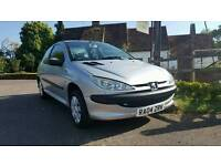 Peugeot 206. 1.4 Petrol. New clutch 118k. Mot. Brilliant first car