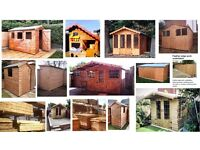 Darcy Sheds & Fencing - sheds/summerhouses handmade to order & fencing delivered or installed.