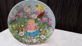 Davenport pottery plate