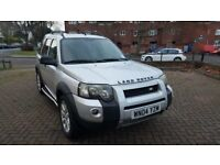 LEFT HAND DRIVE AUTOMATIC FREELANDER TD4 SPORTS IN SOUTH EAST LONDON