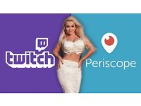 Can you webcast on Twitch, Periscope, Youtube, Facebook etc?