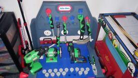 Little tykes tool bench
