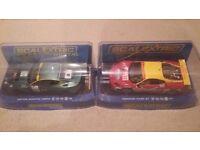 Scalextric Aston Martin DBR9 and Ferrari F430GT