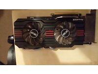 Asus GeForce GTX 660Ti 2GB graphic card
