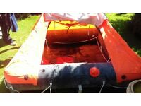 Beaufort 4man life raft