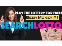 How to play the Lottery for Free 2021 / Beer Money & Side Hustle Income