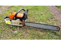 Second hand chainsaw - In full working order