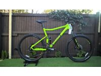 New-VooDoo Minustor 2018 Full Suspension Mountain Bike rrp850