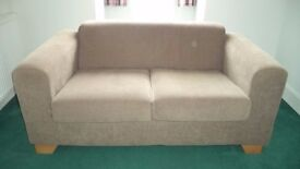 2 seater sofa very clean and in good condition only 1 year old