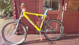 HEAVY TOOLS MOUNTAIN BIKE - VERY DESIRABLE BIKE IN ITS DAY
