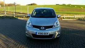 Nissan Note 1.6 petrol, 2013, Automatic, Navigation, 5 drs.