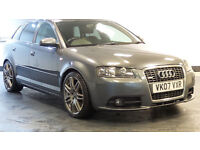 2007 07 AUDI A3 2.0 SPORTBACK TDI S LINE DPF 5d 168 BHP *PART EX WELCOME*24 HOUR INSURANCE*WARRANTY*